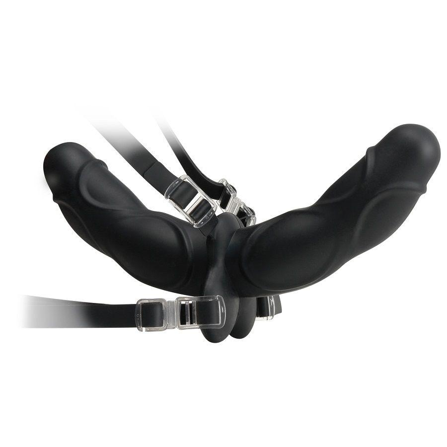 Fetish Fantasy Elite Double Delight Strap-On Black