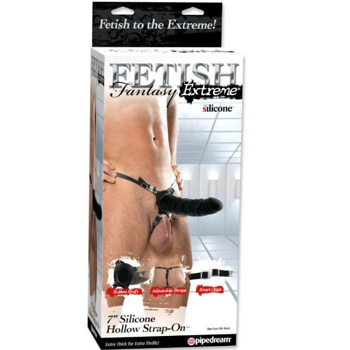 Fetish Fantasy Extreme 18 Cm Silicone Hollow Strap-On