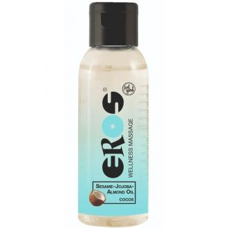 EROS WELLNESS MASSAGE OIL COCONUT 50 ML
