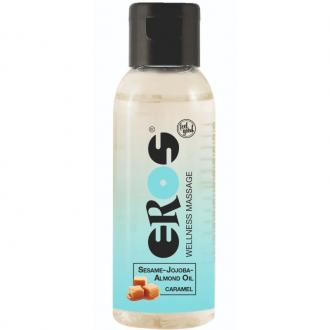 EROS WELLNESS MASSAGE OIL CARAMEL 50 ML