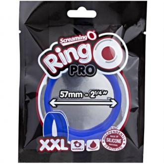 Screaming O Ringo Pro Xxl Cock Ring - Blue