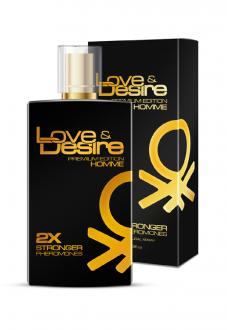 Love Desire GOLD men 100 ml - pánske feromóny
