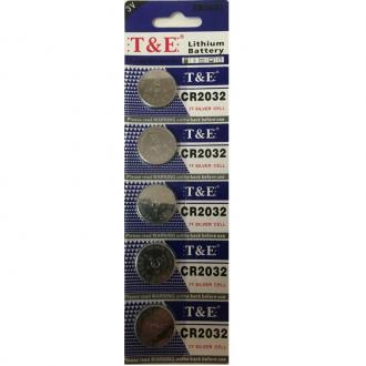 Batteries 5 Units Pack Cr2032 (3v)