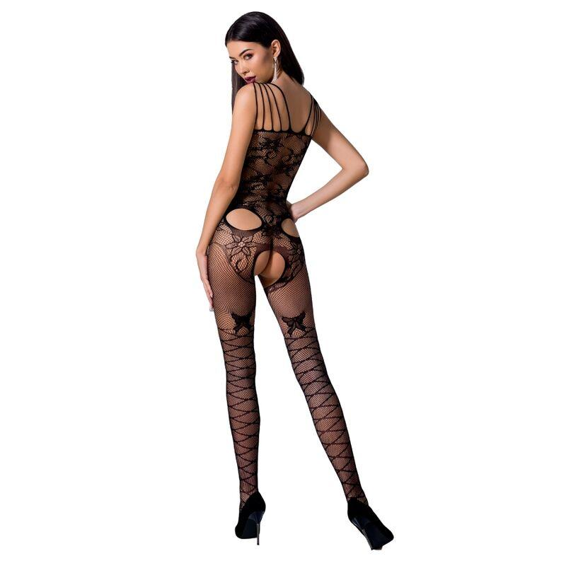 Passion Bs076 Bodystockings Čierna
