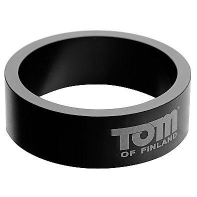 Tom Of Finland Aluminium Cock Ring 50mm