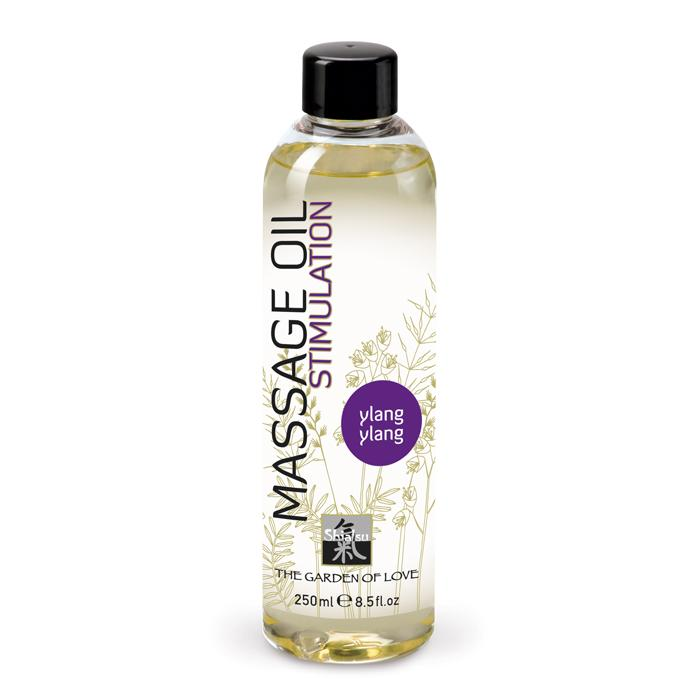 Shiatsu Massage Oil Stimulation - Ylang Ylang 250ml - Masážny Olej
