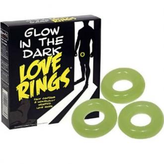 Spencer And Fleetwood - Glow In The Dark 3 Love Rings
