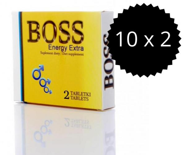 Boss Energy Extra 20ks Tabletiek - Podpora Erekcie