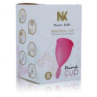 Nina Cup Menstrual Cup Size Pink S