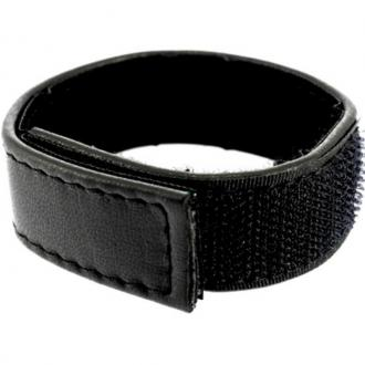 Metal Hard - Cock And Ball Strap Velcroed Adjustable - Black