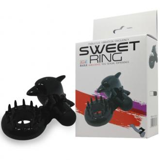 Baile Sweet Ring Clit Stimulating Dolphin