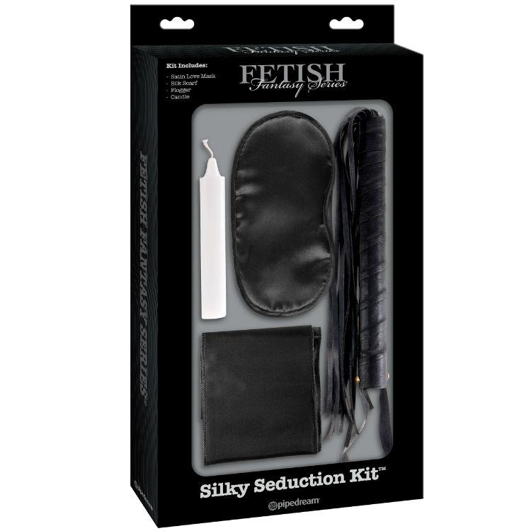 FETISH FANTASY LIMITED EDITION SILKY SEDUCTION KIT - BDSM sada