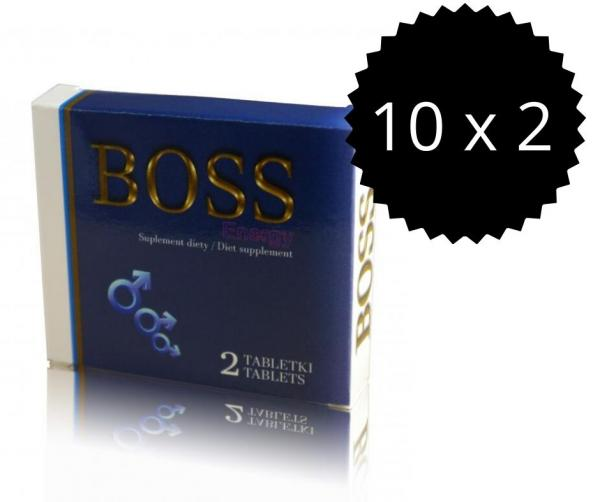 Boss Energy 20ks Tabletiek - Podpora Erekcie