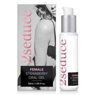 2seduce Gel Oral Strawberry 50ml