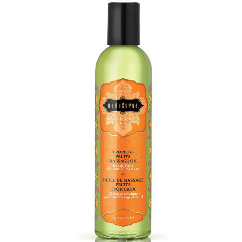 Kamasutra Naturals Massage Oil Tropical