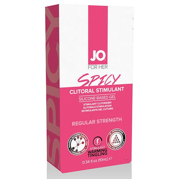 System JO - Clitoral Gel Warming Spicy 10 ml