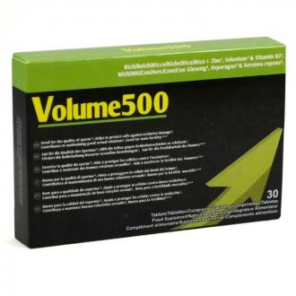 VOLUME 500 INCREASE THE QUANTITY AND QUALITY OF SPERM
