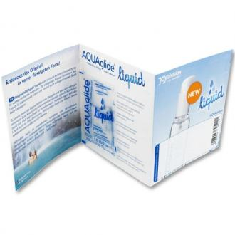 Aquaglide Waterbased Liquid Lubricant Single Dose 3 Ml