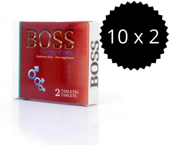Boss Energy Power 20ks Tabletiek - Podpora Erekcie