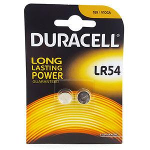 Duracell Battery Lr54 Lr1130 Ag10 1,5v 2 Units