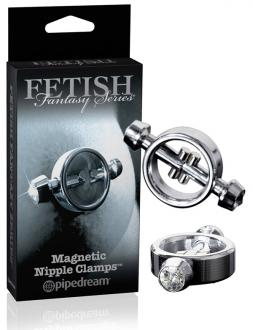 FETISH FANTASY LIMITED EDITION MAGNETIC NIPPLE CAMPS - svorky na bradavky