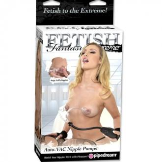 Fetish Fantasy Extreme Auto-Vac Nipple Pumps
