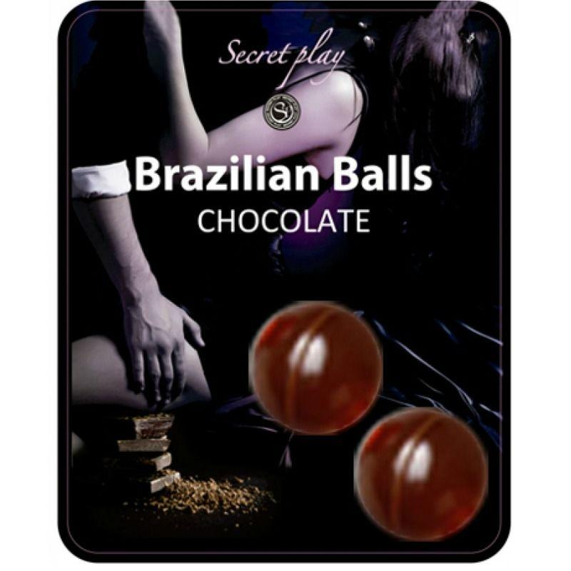 Secretplay 2 Brazilian Balls Chocolat