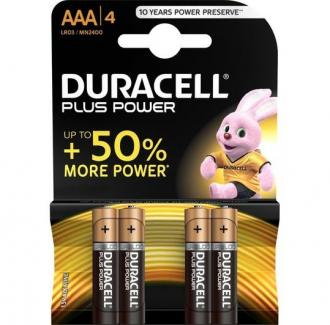 Duracell Plus Power Battery Aaa Lr03 4 Units