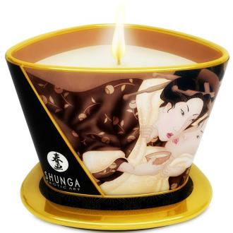 Mini Caress By Candlelight Massage Candle Chocolate
