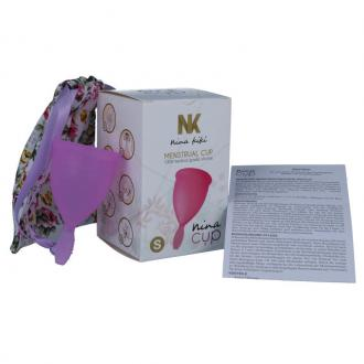 Nina Cup Menstrual Cup Size Purple S