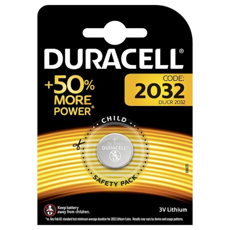 Duracell Battery Boton Litio Cr2032 3v 1unit