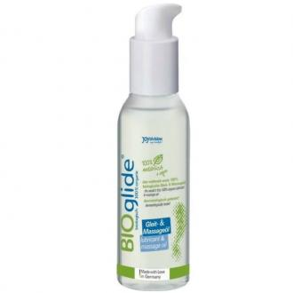 BIOGLIDE ORGANIC LUBRICANT AND MASSAGE OIL 125 ML