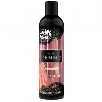 Wet Elite Femme Massage Oil And Bath Sensuality 118 Ml