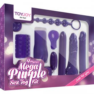 Just For You Mega Purple Sex Toy Kit,
