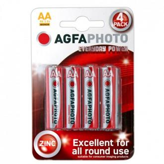 Agfaphoto 4 Batteries Card Aa