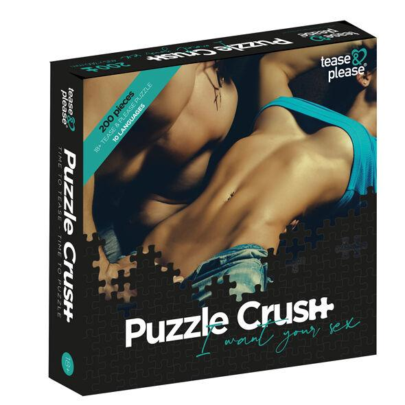 Tease &  Please Puzzle Crush I Want Your Sex (200 Pc)