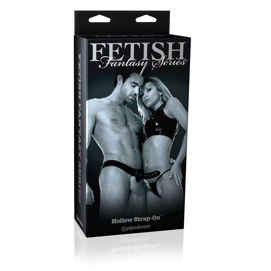 FETISH FANTASY LIMITED EDITION HOLLOW STRAP-ON - pripínací penis