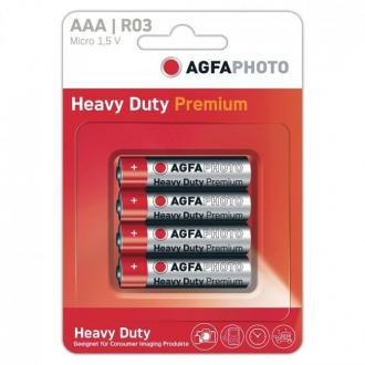 Agfaphoto 4 Batteries Card Aaa