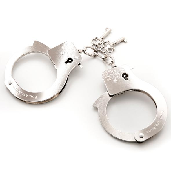 Fifty Shades of Grey - Metal Handcuffs - putá