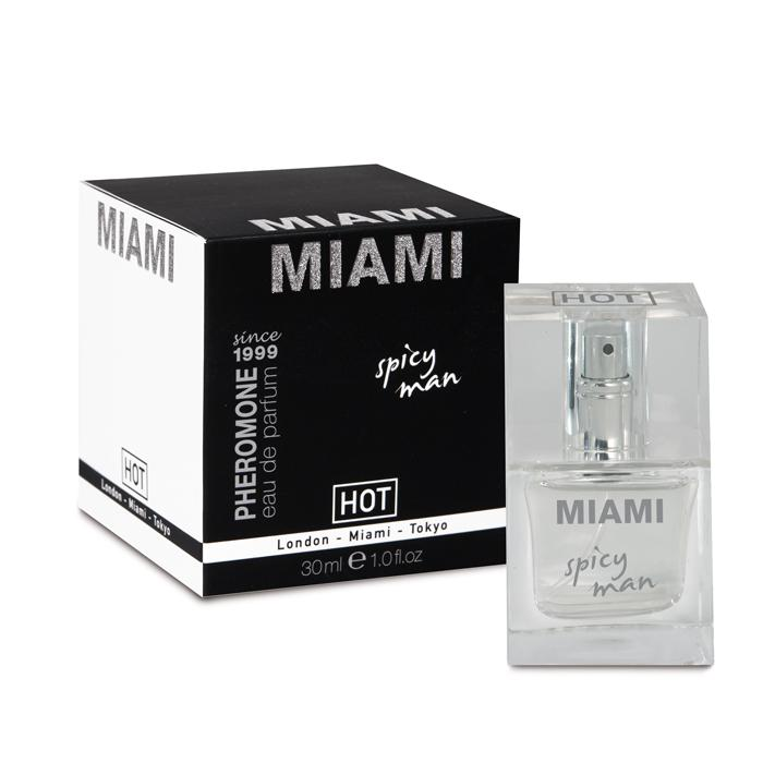 HOT PHEROMONE PARFUM  MIAMI  Spicy Man 30ml - feromóny