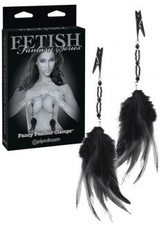FETISH FANTASY FANCY FEATHER CLAMPS - štipce na bradavky