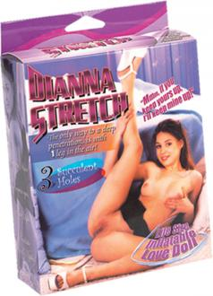 Dianna Stretch 1 leg in the Air - nafukovacia panna