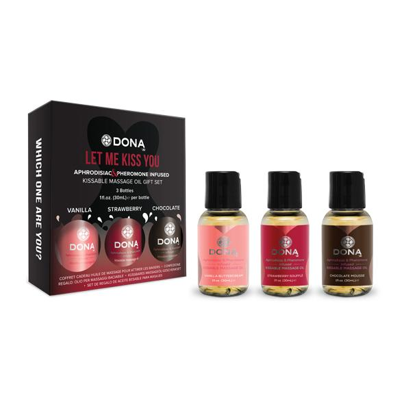 Dona - Flavored Massage Gift Set (3 x 30 ml)