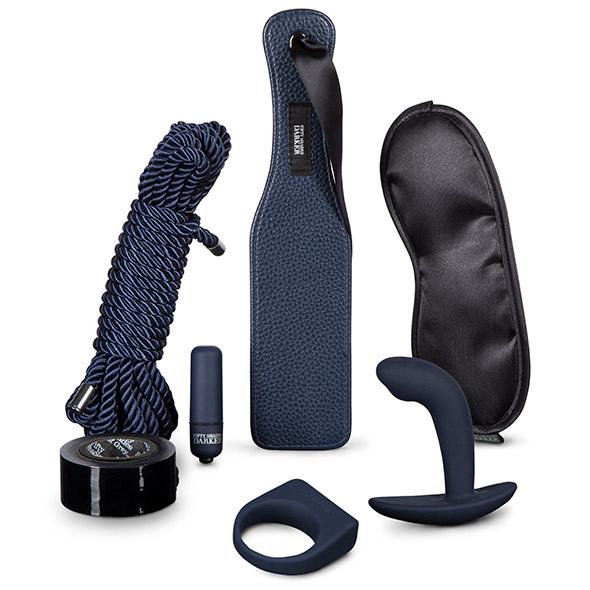 Fifty Shades of Grey - Darker Advanced Couples Kit - erotická darčekova sada