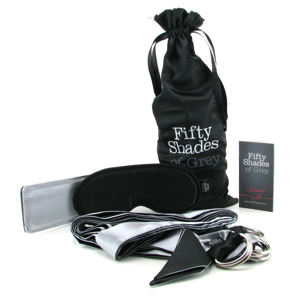 Fifty Shades of Grey Submit to Me Bondage Kit - erotická darčeková sada