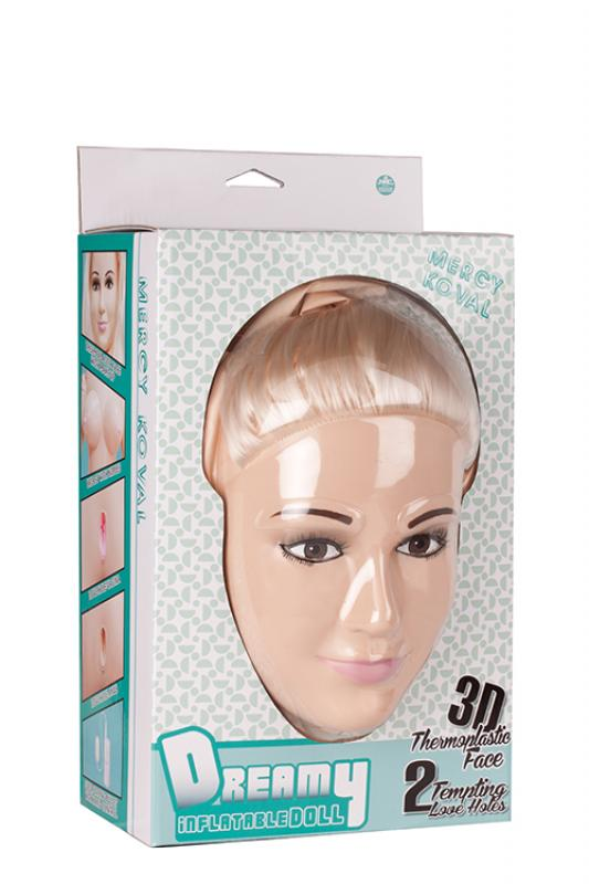 3d Face Love Doll Merci Koval Dreamy - Nafukovacia Panna