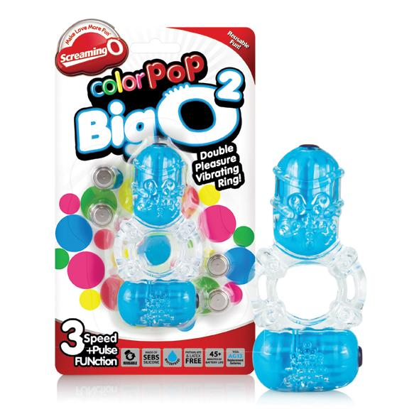The Screaming O - Color Pop Big O2 Blue