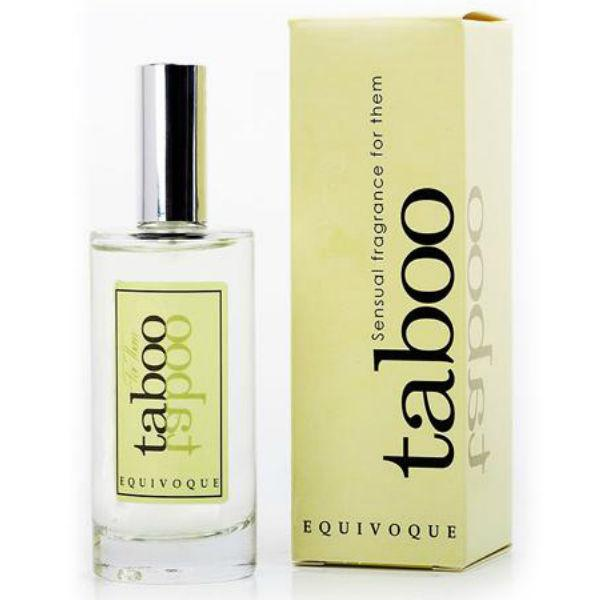 TABOO EQUIVOQUE SENSUAL FRAGANCE FOR HER 50ML - unisex feromóny