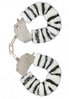 Furry Fun Cuffs Lecherous Zebra - Putá
