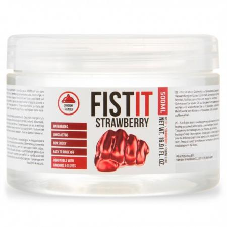 PHARMQUESTS FIST-IT STRAWBERRY 500 ML - lubrikant